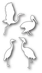 Memory Box Elegant Shorebirds -stanssisetti