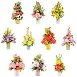 Valmiiksi leikattuja 3D kuvia, Flowers in Vases