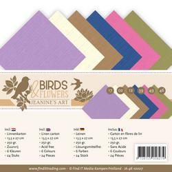 Jeanines Art kartonkipakkaus Birds & Flowers