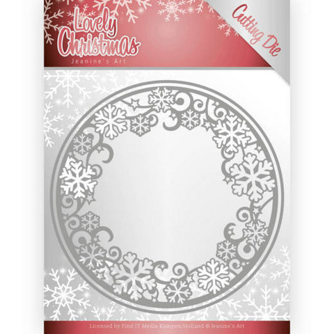 Jeanines Lovely Christmas stanssisetti Lovely Circle Frame