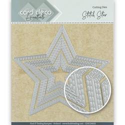 Card Deco Essentials stanssisetti Stitch Star