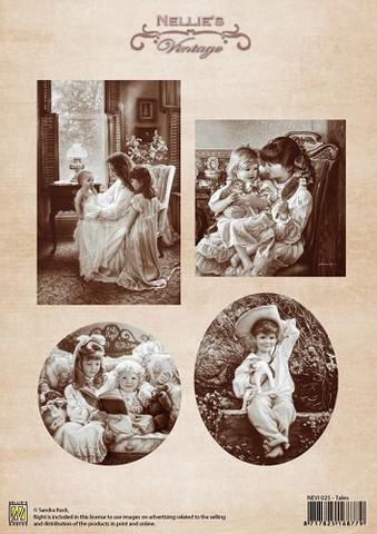 Nellie's Tales -korttikuvat
