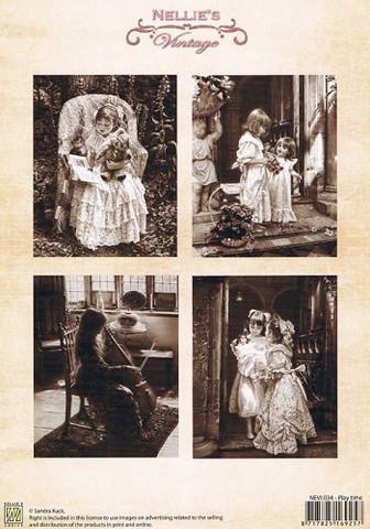 Nellie's Play Time -korttikuvat