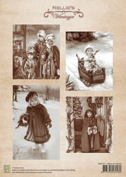 Nellie's Merry Christmas -korttikuvat