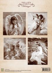 Nellie's Angels Flowers -korttikuvat