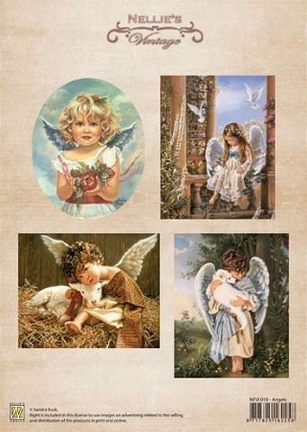 Nellie's Angels -korttikuvat