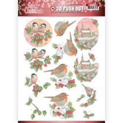 Amy Design Lovely Christmas 3D-kuvat Lovely Birds