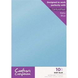 Crafter's Companion Glitter -kartonki, Baby Blue, A4