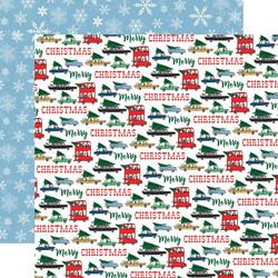 Carta Bella Merry Christmas skräppipaperi Tree Shopping