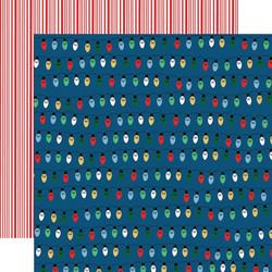 Carta Bella Merry Christmas skräppipaperi Christmas Lights