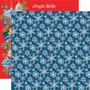 Carta Bella Merry Christmas skräppipaperi Snowflakes