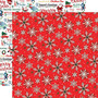 Carta Bella Merry Christmas skräppipaperi Christmas Snow