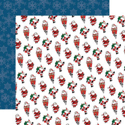 Carta Bella Merry Christmas skräppipaperi Jolly Santa Claus