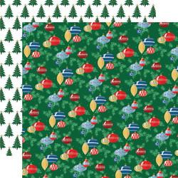 Carta Bella Merry Christmas skräppipaperi Ornaments