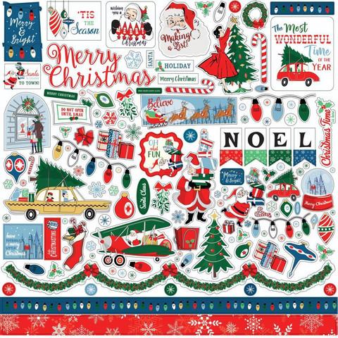 Carta Bella tarra-arkki Merry Christmas