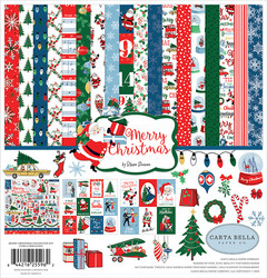 Carta Bella Merry Christmas Collection -paperipakkaus