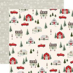 Carta Bella Christmas Market skräppipaperi Deck The Halls