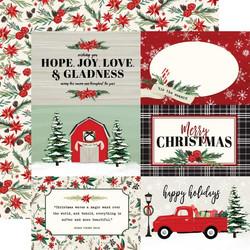 Carta Bella Christmas Market skräppipaperi 4