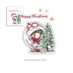 Polkadoodles Christmas Tree -leimasinsetti