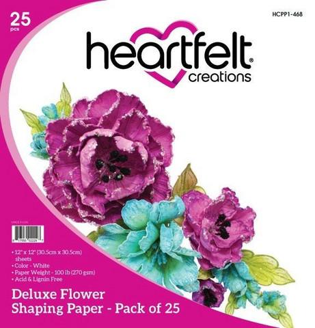 Heartfelt Creations Deluxe Flower Shaping -paperipakkaus