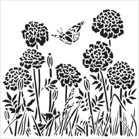 Crafter's Workshop sapluuna Happy Dandelions