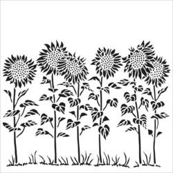 Crafter's Workshop sapluuna Sunflower Meadow