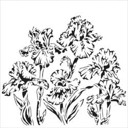 Crafter's Workshop sapluuna Irises