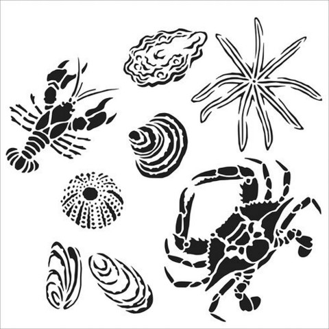 Crafter's Workshop sapluuna Gulf Coast Creatures