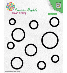 Nellie's Choice leimasin Mandala Circles