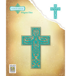 Nellie's Choice stanssisetti Filigree Cross