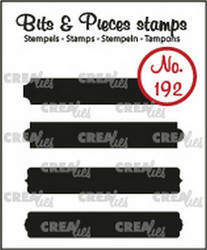 Crealies Bits & Pieces -leimasinsetti Strips B