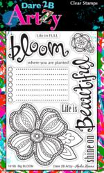 Dare2BArtzy leimasinsetti Big Bloom