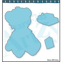 Dare2BArtzy stanssisetti Bear Hugs