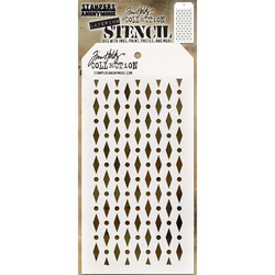Tim Holtz Diamond Dots -sapluuna