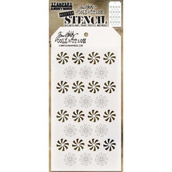 Tim Holtz Shifter Peppermint -sapluuna