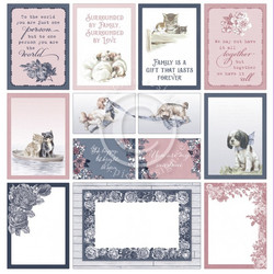 Pion Design Images From The Past skräppipaperi Everlasting Memories I