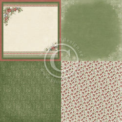 Pion Design A Christmas To Remember skräppipaperi Christmas florals