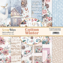 ScrapBoys paperikko Cotton Winter