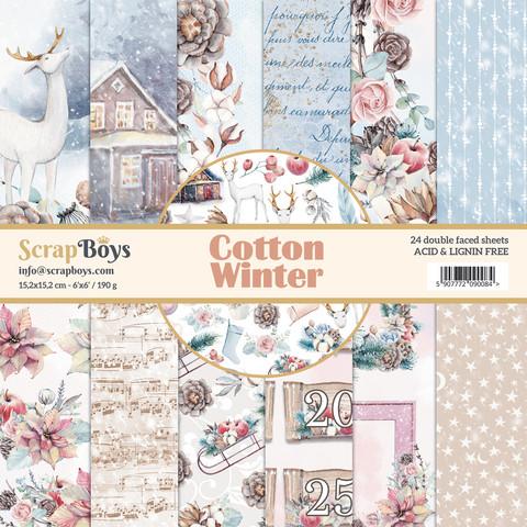 ScrapBoys paperikko Cotton Winter