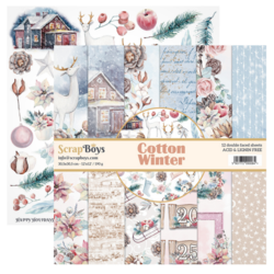 ScrapBoys paperikko Cotton Winter 12
