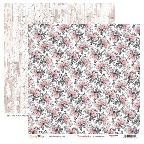 ScrapBoys Dream Garden skräppipaperi 05