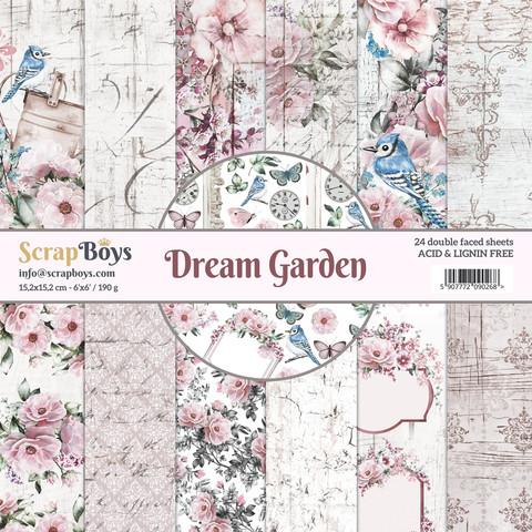 ScrapBoys paperikko Dream Garden