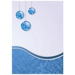 Korttipohjat, joulu, sininen, B6