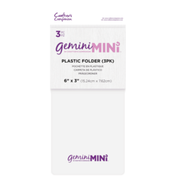 Gemini Mini Plastic Folder -levyt, 3 kpl