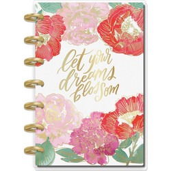 Mambi Happy Planner 12 kk päiväämätön Mini Planner -kalenteri, Year In Bloom