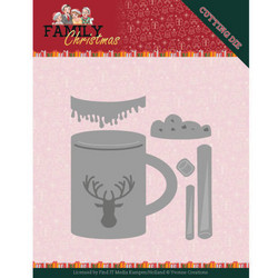 Yvonne Creations Family Christmas stanssisetti Hot Drink