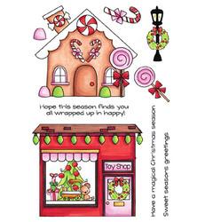 C.C.Designs leimasinsetti Gingerbread Lane