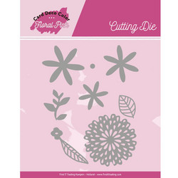 Card Deco Floral Pink stanssisetti Flowers