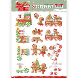 Yvonne Creations Sweet Christmas 3D-kuvat Sweet Cookies