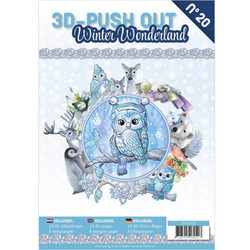 3D-Push Out -kirja Winter Wonderland
